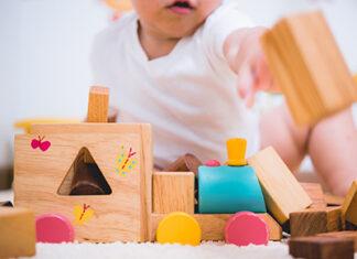 Drewniane zabawki dla dzieci - w zależności od wieku