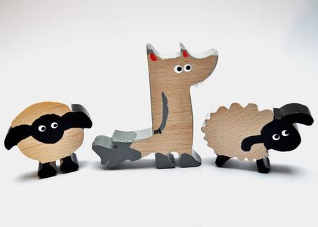 Zabawki dziecięce z drewna