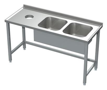 Meble ze stali dla gastronomii