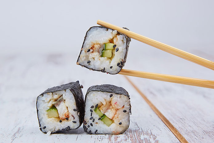 Papierowe opakowania do sushi